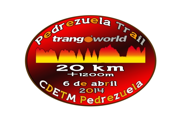 Logo Camiseta Pedrezuela Trail Trangoworld