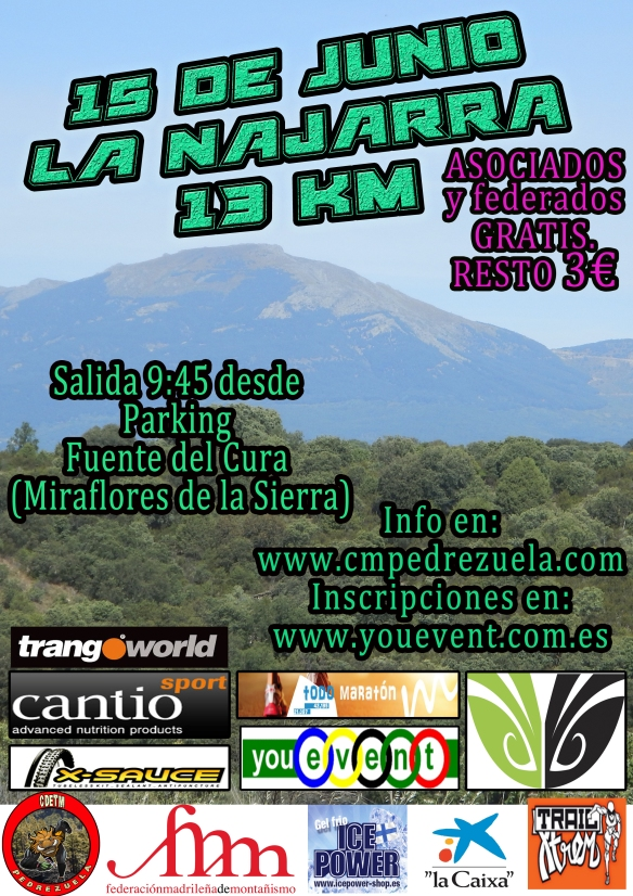 La Najarra 2014 Cartel
