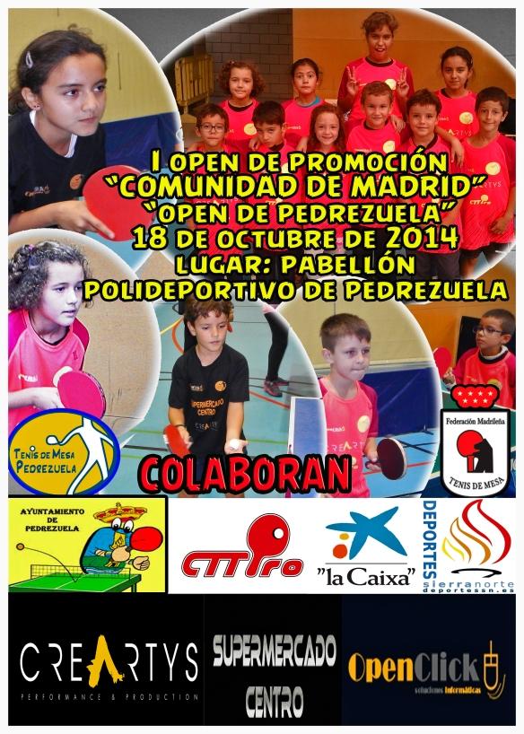 i open promoción temporada 2014-2015
