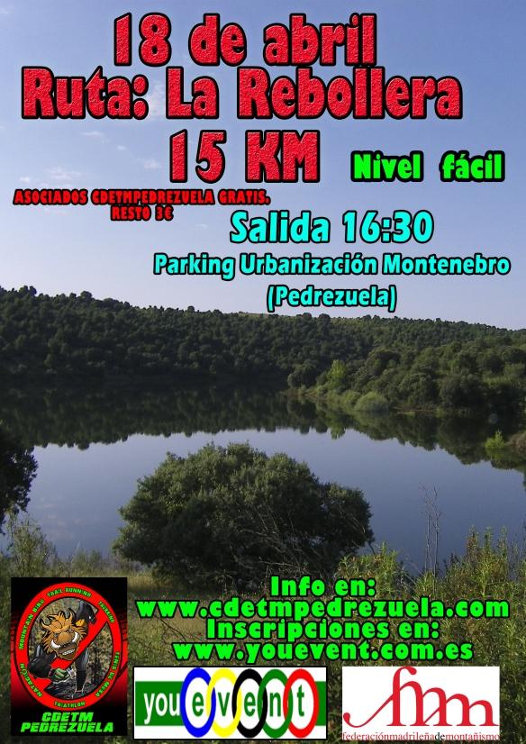 ruta LA REBOLLERA 2015